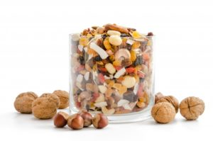 raisins secs noisettes et noix