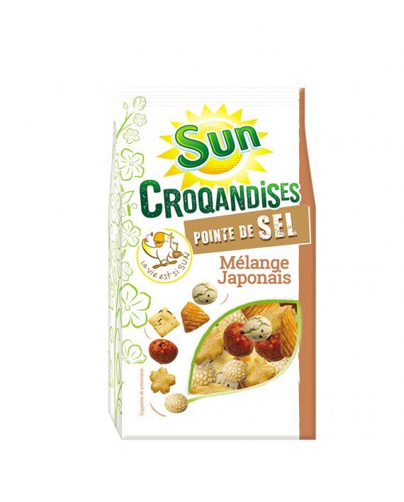 Mélange japonais 125g croqandises SUN