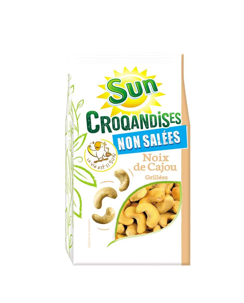 Noix de cajou grillées 250g croqandises SUN