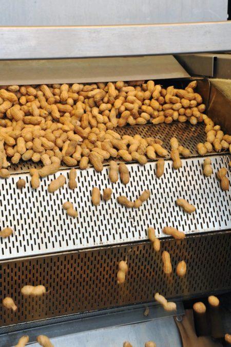 arachides coque après cuisson