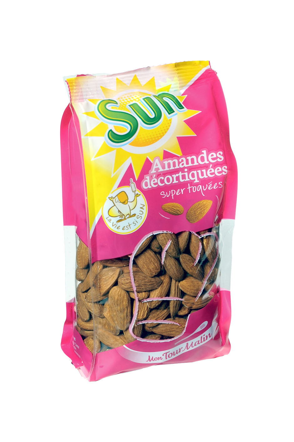 AMANDES DECORTIQUEES MON TOUR MALIN 300G SUN