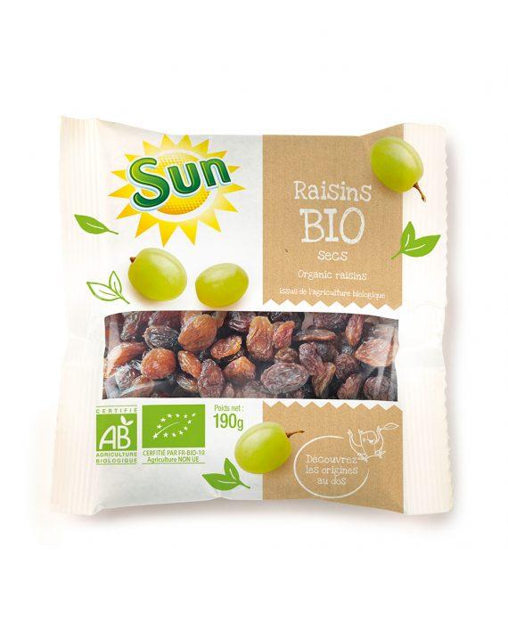 raisins-secs-bio-190g-sun