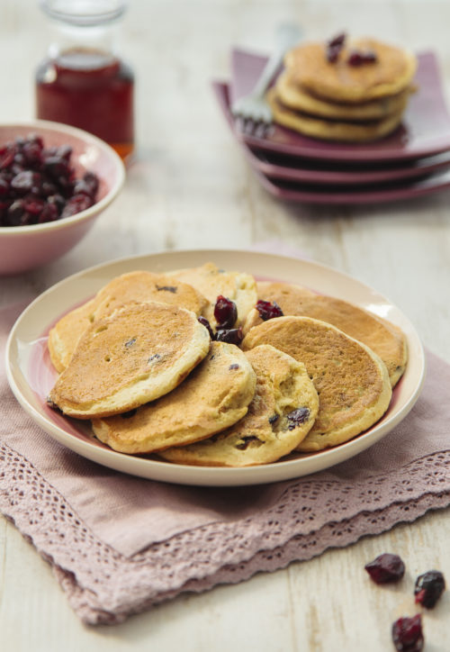 pancakes cranberries