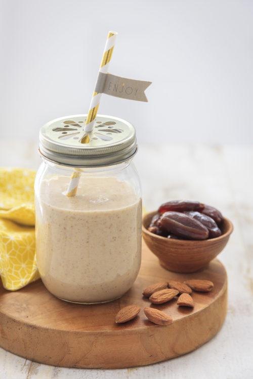 smoothie banane amande datte