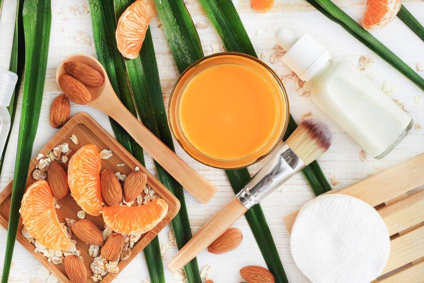 Fruits secs et belle peau