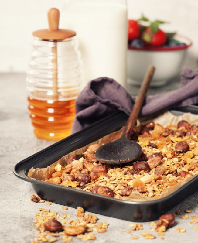 Granola fait maison fruits secs SUN