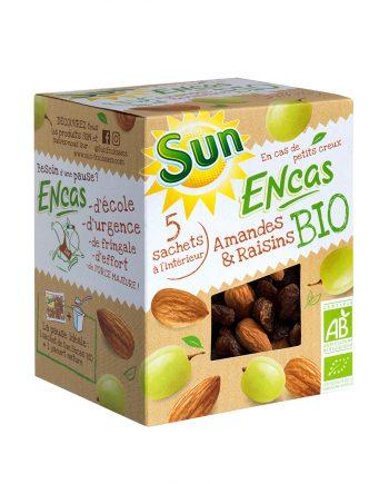 SUN Encas Amandes & raisins Bio 150g