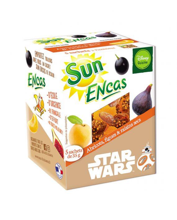 SUN ENCAS star wars Abricots figues raisins 175g