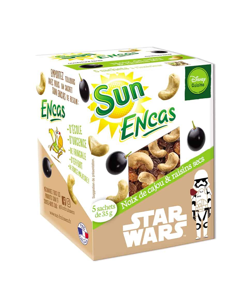 SUN ENCAS star wars Cajou raisins 175g